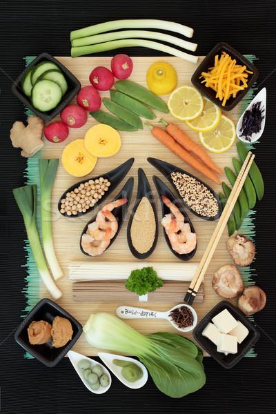 Macrobiotic Food Selection Stock photo © marilyna