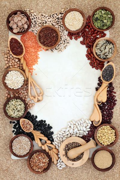 健康 食品 国境 穀類 種子 ストックフォト © marilyna