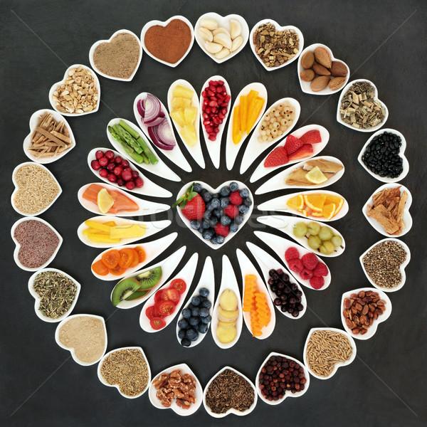 Health Food Wheel Stock photo © marilyna