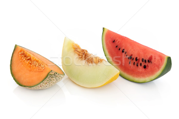 Melon Varieties   Stock photo © marilyna