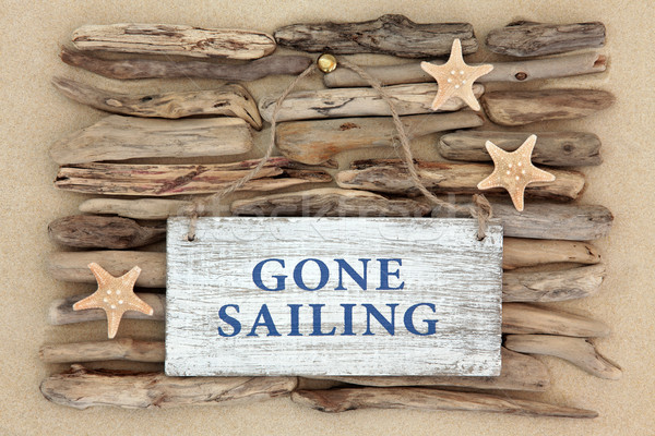 Gone Sailing Abstract  Stock photo © marilyna