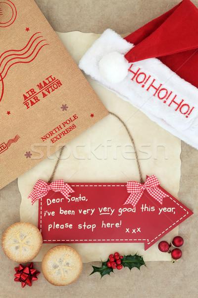 Christmas Eve Wish Stock photo © marilyna