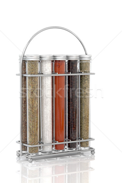 Spice and Herb Rack Stock photo © marilyna