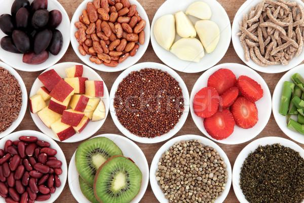 Salute alimentare ingredienti bianco porcellana Foto d'archivio © marilyna