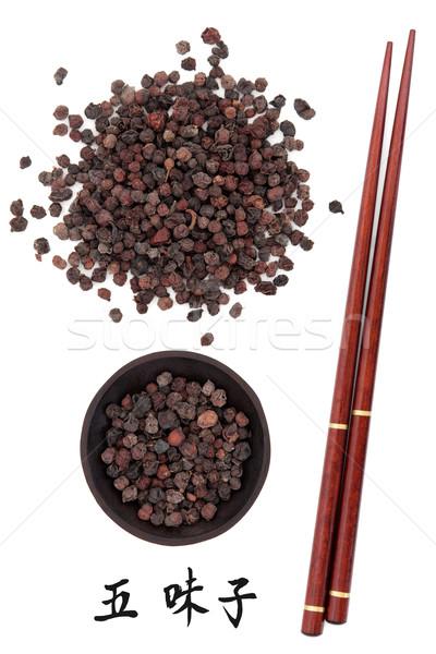 Schisandra Berries Stock photo © marilyna