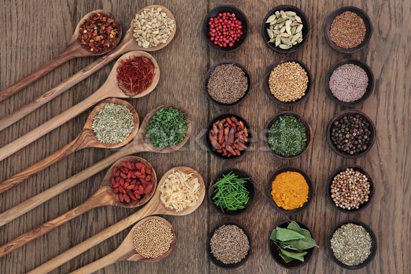 Food Seasoning Stock photo © marilyna