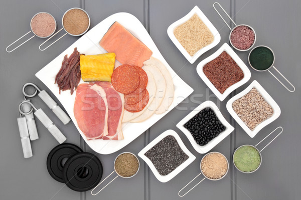 Body Building Super Food Stock photo © marilyna
