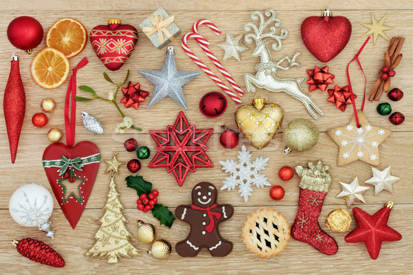 Stock photo: Decorations and Symbols of Christmas