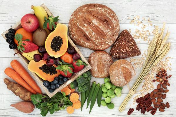 Alto fibra salute alimentare frutta fresca verdura Foto d'archivio © marilyna