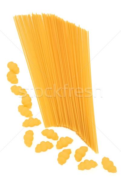 Gnocchi and Spaghetti Pasta Stock photo © marilyna