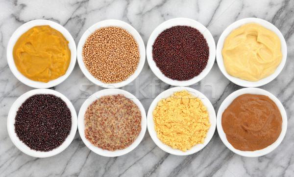 Mustard Types Stock photo © marilyna