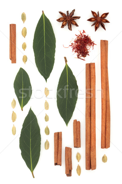 Spice and Herb Abstract Stock photo © marilyna