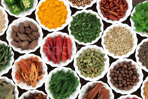 Herb and Spice Food Selection Stock photo © marilyna