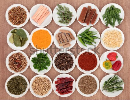 Food and Herbs for Men Stock photo © marilyna