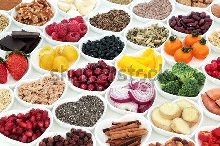 Aphrodisiac Love Food for Valentines Day Stock photo © marilyna