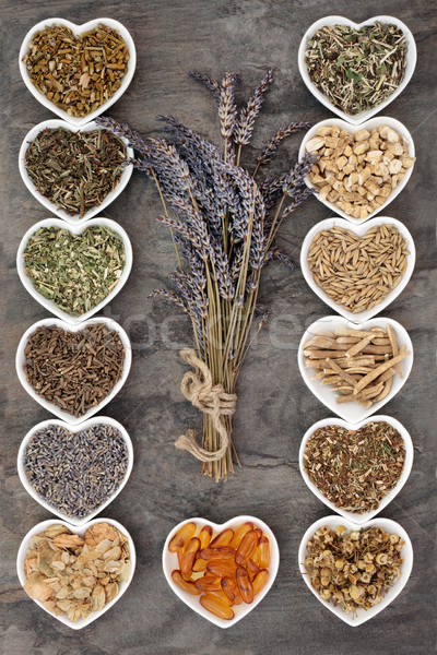 Medicinal Herbs for Anxiety Disorders Stock photo © marilyna