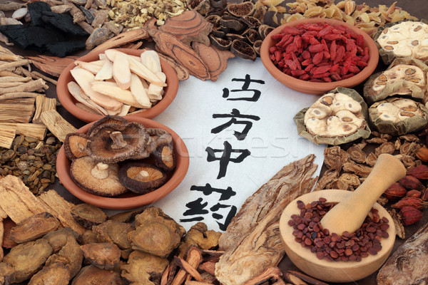 Traditional Ancient Chinese Medicine Stock photo © marilyna