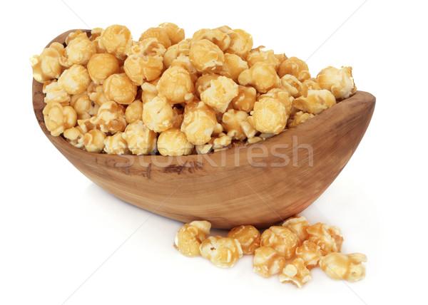 Stock photo: Butterscotch Popcorn