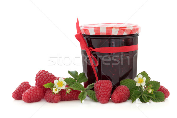 Raspberry Jam Stock photo © marilyna