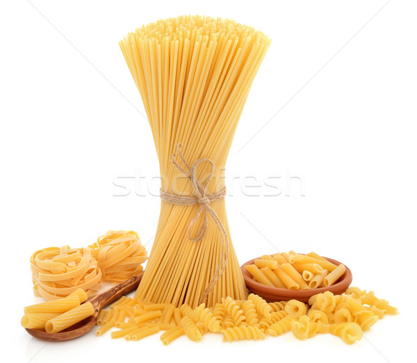 Pasta Varieties Stock photo © marilyna