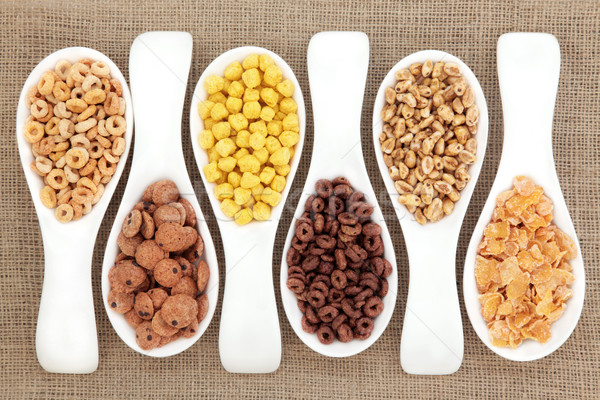 Breakfast Cereal Selection Stock photo © marilyna