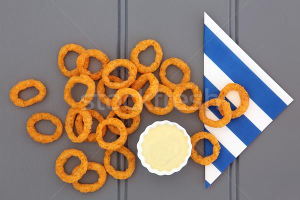 Onion Rings Stock photo © marilyna