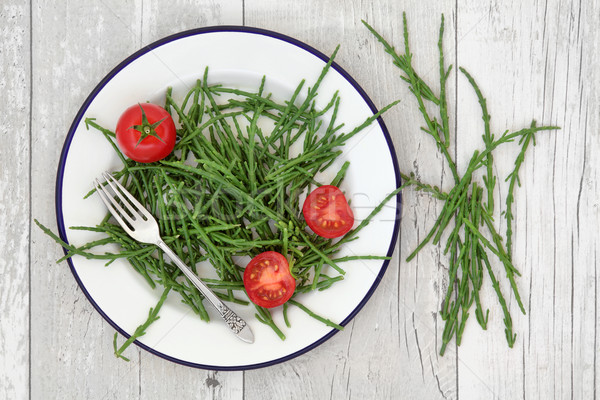 Samphire and Tomato Superfood Stock photo © marilyna