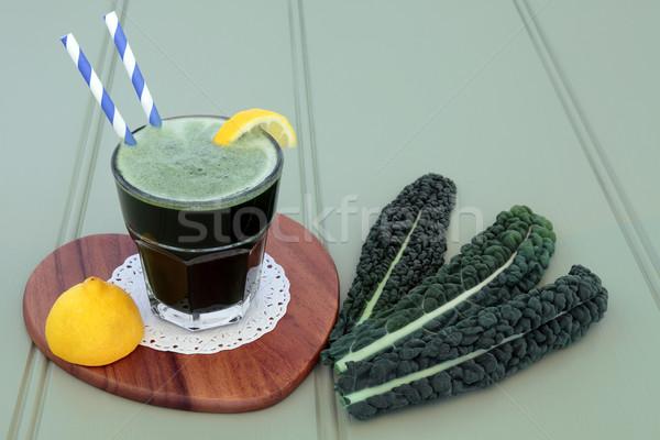 Kale Drink Stock photo © marilyna