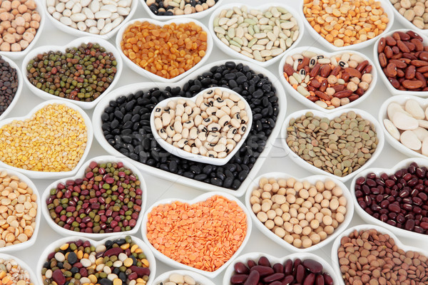 Healthy Dried Vegetable Pulses Stock photo © marilyna