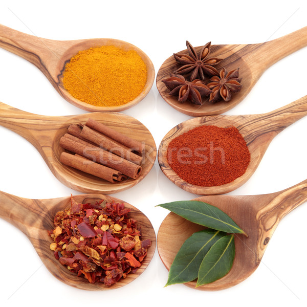 Spice and Herb Seasoning Stock photo © marilyna