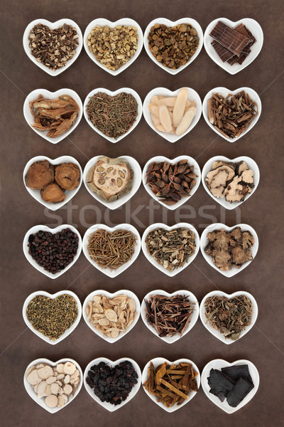 Chinese Medicine Selection Stock photo © marilyna