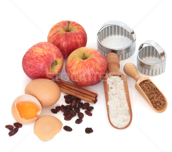 Apple Pie Ingredients Stock photo © marilyna
