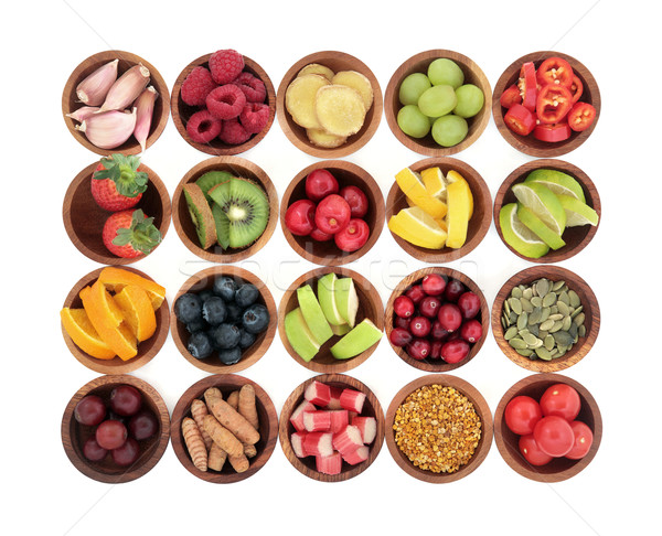 Stock photo: Health Food for Cold Remedy