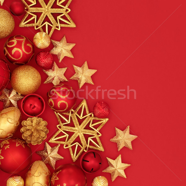 Festive Christmas Background Stock photo © marilyna