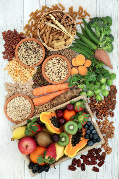 Health Food for a High Fiber Diet Stock photo © marilyna