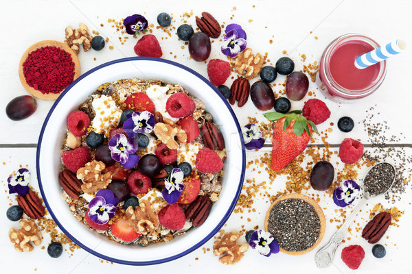 Stock photo: Super Food for a Healthy Breakfast
