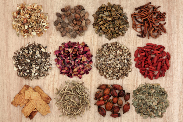 Chinese Herbal Health Stock photo © marilyna