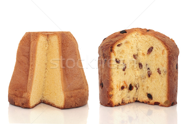 Pandoro and Panettone Cakes Stock photo © marilyna