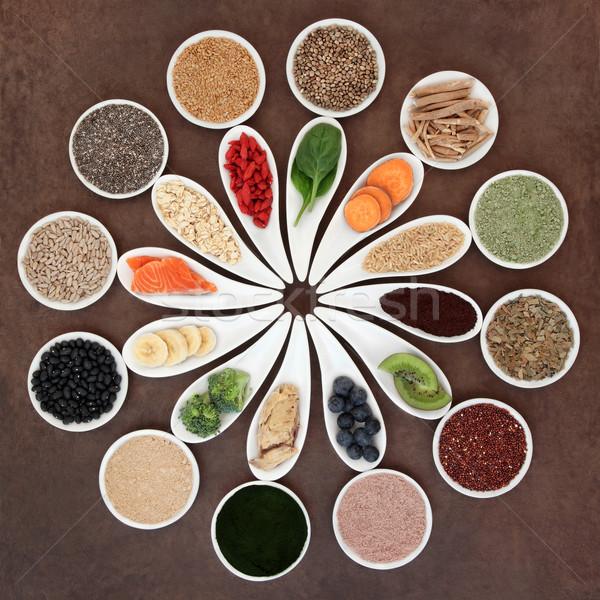 ボディービル 健康 食品 白 ストックフォト © marilyna