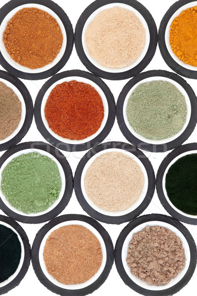 Health Food Powder Selection Stock photo © marilyna