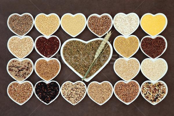 Grain Food Sampler Stock photo © marilyna