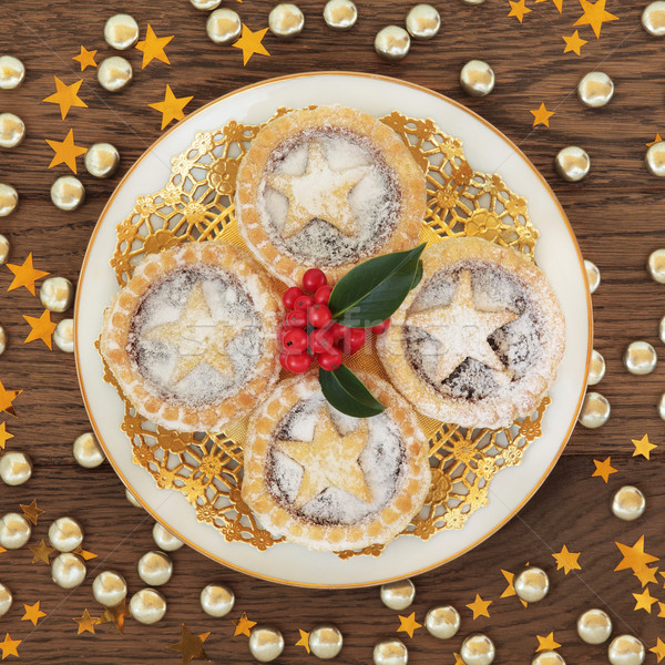 Stock photo: Homemade Mince Pies