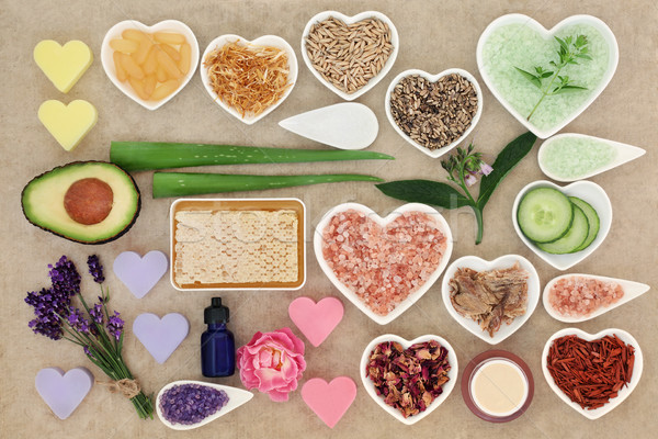 Skin Care and Body Care Ingredient Selection  Stock photo © marilyna