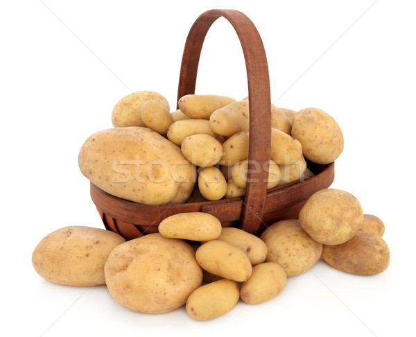 Potato Types Stock photo © marilyna