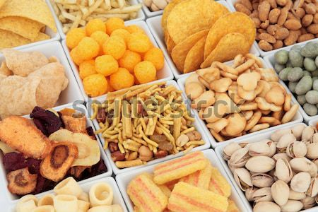 Snack Food Selection Stock photo © marilyna