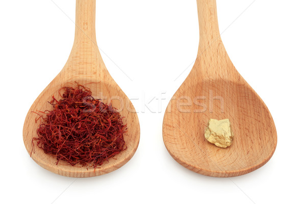 Saffron and Gold Stock photo © marilyna