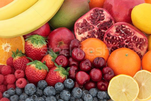 Vers gemengd vruchten vruchten hoog vitamine c Stockfoto © marilyna