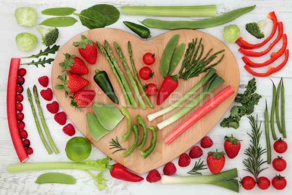 Healthy Heart Food Stock photo © marilyna