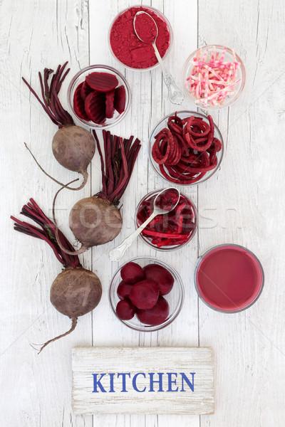 ビートの根 健康 食品 野菜 スーパー スムージー ストックフォト © marilyna