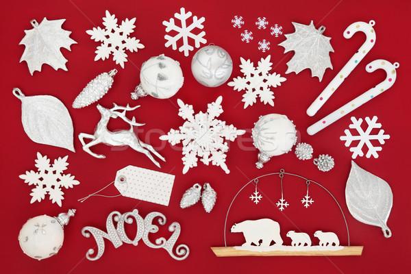 Christmas Noel Decorations Stock photo © marilyna